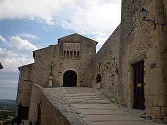 Banon, Alpes-de-Haute-Provence - The Feudal Gatehouse