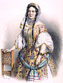 Barabás Portrait of Jozefa Kaiser Ernst 1856.jpg