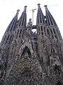 Barcelona La Sagrada Famillia, Nativity Facade.JPG