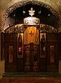Bari, san nicola, interno, cripta, iconostasi 01.jpg