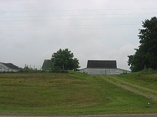 Gill–Morris Farm historic farmstead near the city of Circleville in Pickaway County, Ohio, United States