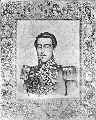 Luís Alves de Lima e Silva, Duke of Caxias - Luís Alves de Lima e Silva, then-Baron of Caxias, around age 38, c. 1841