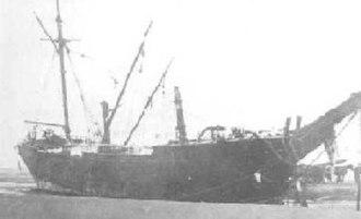 Mexico (barque) - Image: Barque Mexico 1886