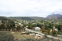 Skyline of Barrydale