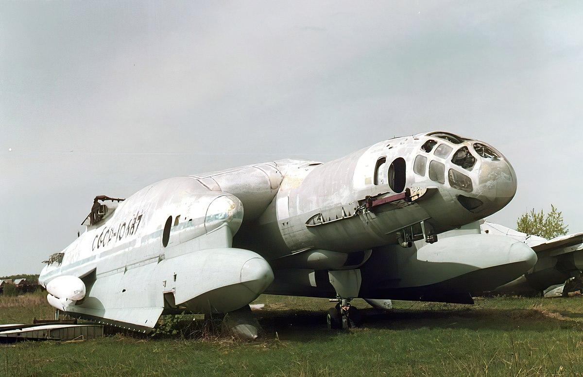 The Bartini Beriev VVA-14 Vertikaľno-Vzletayushchaya Amfibiya (vertical take-off amphibious aircraft) was a wing-in-ground-effect aircraft developed