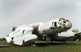 Robert Ludvigovich Bartini - Partial remnants of the VVA-14 at the Central Air Force Museum.