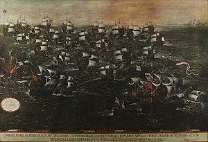 Batalla naval de Pernambuco o de los Abrojos (vista III). Hacia 1632 Cuadro3-v2-2.jpg