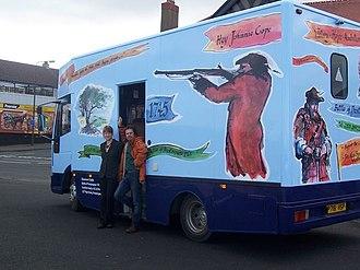 """Prestonpans - Battle of Prestonpans Heritage Trust's """"Battle Bus"""""""