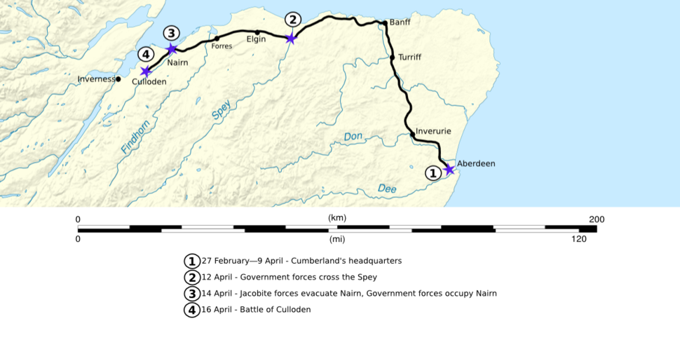 Battle of Culloden (campaign map 01)