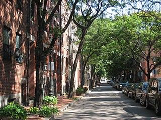Bay Village, Boston Neighborhood of Boston in Suffolk, Massachusetts, United States