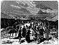 Bazaar in Okumi (Roskoschny, 1884).JPG