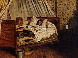 Bazille, Frédéric - Monet after His Accident at the Inn of Chailly.jpeg