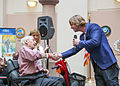 Beau Davidson sings for a Veteran at the West Palm VA Medical Center (West Palm Beach, FL).JPG