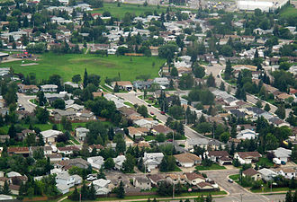 Beaumont, Alberta - Beaumont from the air