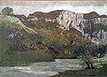 Beaux-Arts de Carcassonne - Les rochers d'Ornans ou Les rochers de Mouthier - Gustave Courbet.jpg