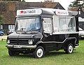 Beford CF converted for selling sausages first registered Jan 1973 1759cc at Knebworth.jpg