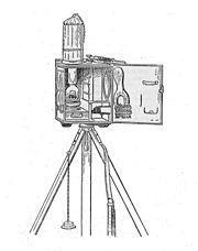 Begbie signalling oil lamp (Signalling, 1918)