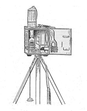 Signal lamp - Begbie signalling oil lamp, 1918