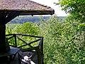 Beim Bromberg im Naturpark Schönbuch, Der Blick von der Falkenkopfhütte in das Goldersbachtal - panoramio.jpg