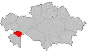 Beyneu District - Image: Bejneu District Kazakhstan