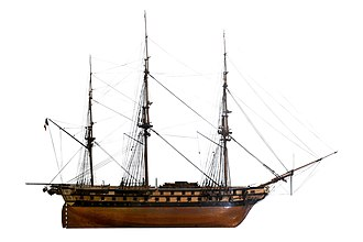 French ship Belle Poule (1828) - Image: Belle Poule IMG 4865