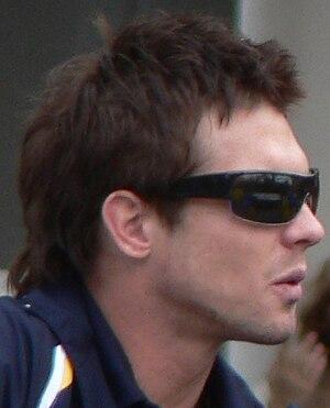 Ben Cousins - Cousins at the 2006 AFL Grand Final parade