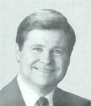 Ben Jones (American actor and politician) - Image: Ben L. Jones 101st Congress 1989