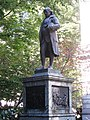 Benjamin Franklin statue, Old City Hall, Boston - 1.JPG