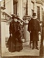 Benjamin Gerrish Gray 85 Anne Eliza (Wiggins) 83 golden wedding 1912 at 4 Inverness Gardens Kensington.jpg