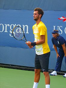 Benoit Paire aux qualifications de l'US Open 2010