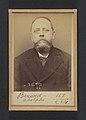 Berard. Adolphe. 52 ans, né le 26-9-41 à Paris Ve. Ébéniste. Anarchiste. 16-3-94. MET DP290165.jpg