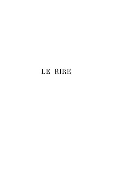 File:Bergson - Le Rire.djvu