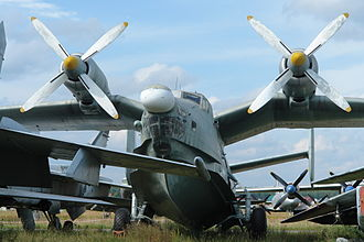 Beriev Be-12 - Be-12 at Monino Central Air Force Museum in Moscow, 2006
