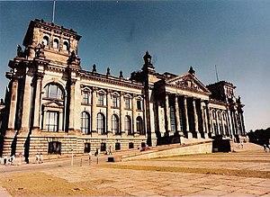 German government building in Berlin.