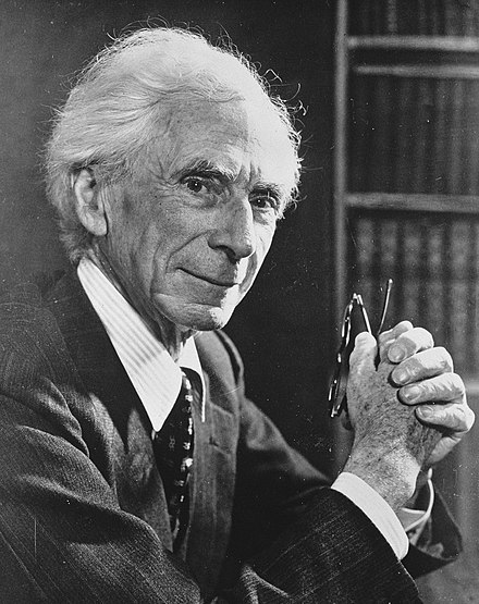 Russell in the 1950s Bertrand Russell 1957.jpg