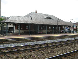 Berwyn, Illinois - Berwyn Metra Station