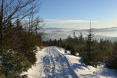 Beskid Sądecki mountains, Poland