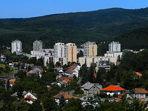 Nógrád County - Image: Beszterce lakótelep full