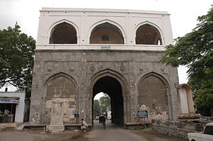 Tourist attractions in Aurangabad, Maharashtra - Bhadkal Gate, built by Malik Ambar in commemoration of his victory against the Mughals