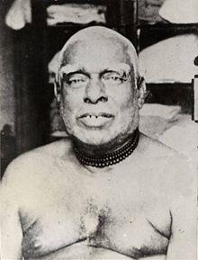 Portreto de grizhara maljuna hinda viro