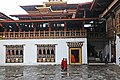 Bhutan - Punakha Dzong - Monks called to prayers - panoramio (2).jpg