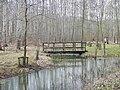 Biberfreianlage inmitten des Lehrpfadsystems des Informationszentrums zum Biosphärenreservat Mittlere Elbe am renaturierten Landeskulturgraben zwischen Dessau und Oranienbaum - panoramio.jpg