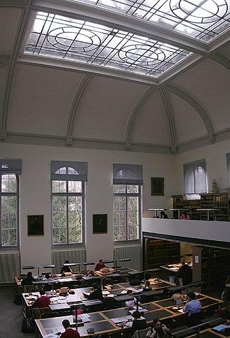 Bibliothèque de Genève - The main reading room