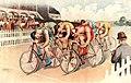 Bicycle race scene, 1895.jpg