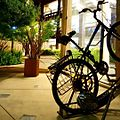 Bicycle rack by Bike Arc in downtown Palo Alto, Ca- 2014-06-19 06-22.jpg