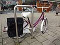 Bicycle rack with bicycle - Mathenesserplein - Nieuwe Westen - Rotterdam.jpg