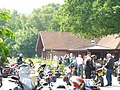 Bikers at Newlands Corner - geograph.org.uk - 826645.jpg
