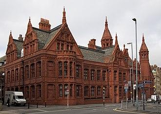 Victoria Law Courts - Image: Birmingham Law Courts
