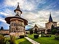 Biserica si curtea manastirii Sucevita.jpg