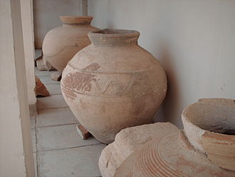 Bishapur - Jarres discovered in Bishapur